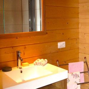 La salle de bain du Chalet